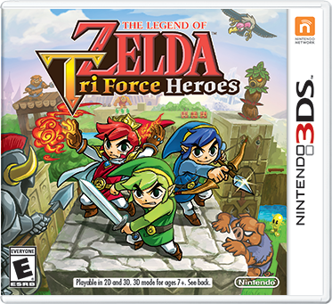 The Legend of Zelda Tri Force Heroes. 3DS