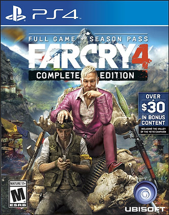 Far Cry 4 Complete Edition. PS4