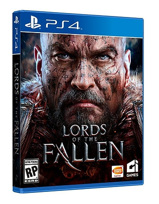 LORDS OF THE FALLEN LIMITED EDITION. PS4