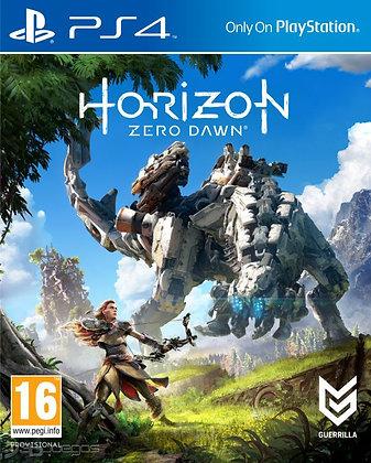 HORIZON: ZERO DAWN. PS4