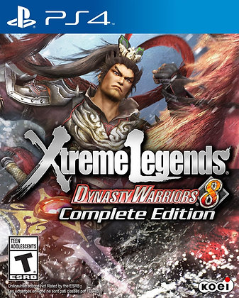 Dynasty Warriors 8 Xtreme Legends. PS4