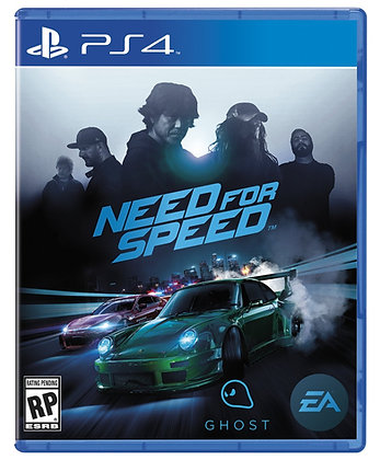 Need for Speed. PS4