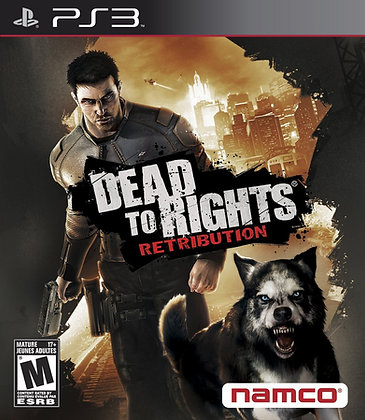 Dead to Rights Retribution. PS3
