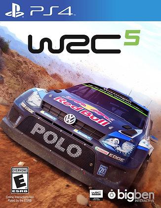 World Rally Car 5. PS4