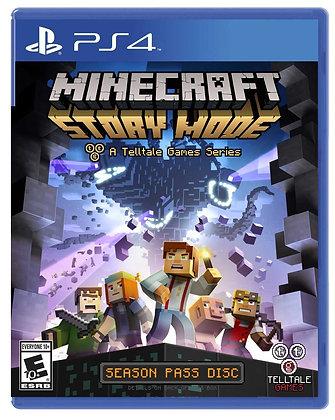 Minecraft Story Mode. PS4