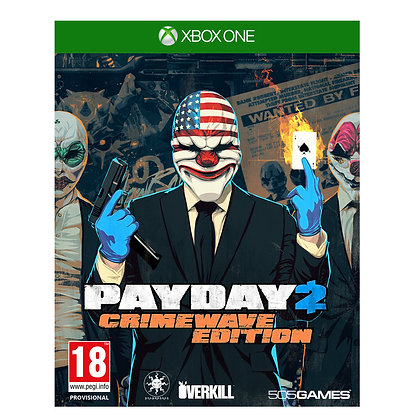 PayDay 2 Crimewave Edition. Xbox One