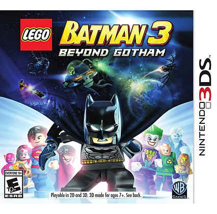 LEGO Batman 3: Beyond Gotham 3DS