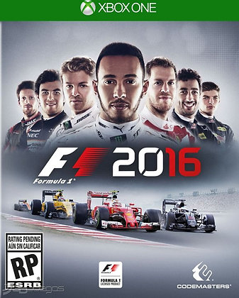 F1 2016. XBOX ONE