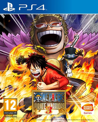 ONE PIECE: PIRATE WARRIORS 3. PS4
