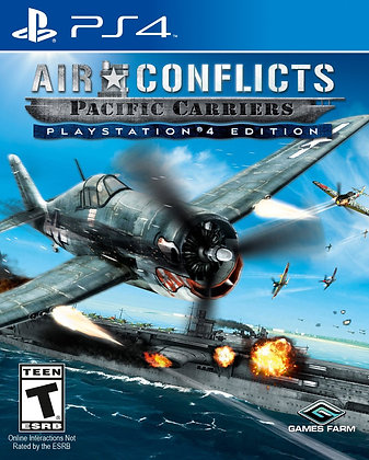 Air Conflicts Pacific Carriers. PS4