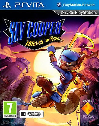 SLY COOPER THIEVES IN TIME PSV