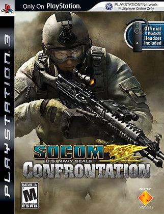 SOCOM Confrontation. PS3