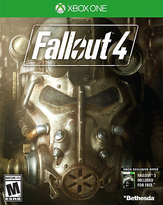 Fallout 4. Xbox One.