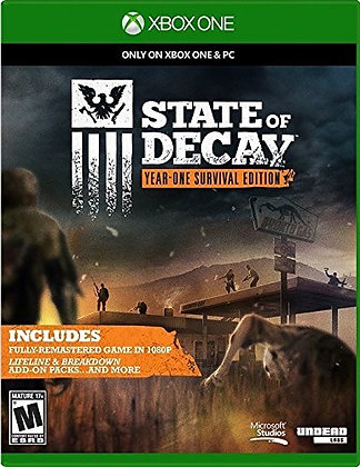 State of Decay Year One Survival Edit. Xbox One