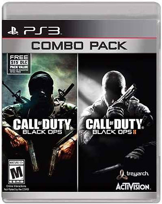 Call of Duty Black Ops Combo Pack. PS3
