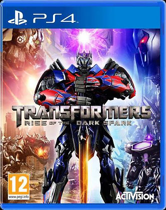 TRANSFORMERS RISE OF DARK PS4