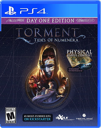 TORMENT: TIDES OF NUMENERA. PS4