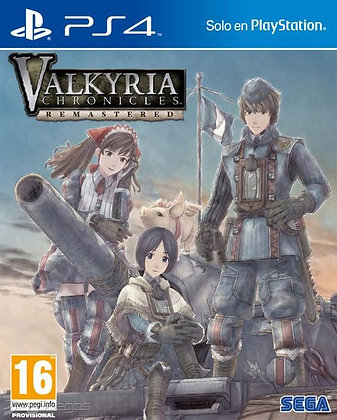 Valkyria Chronicles Remaster Ps4