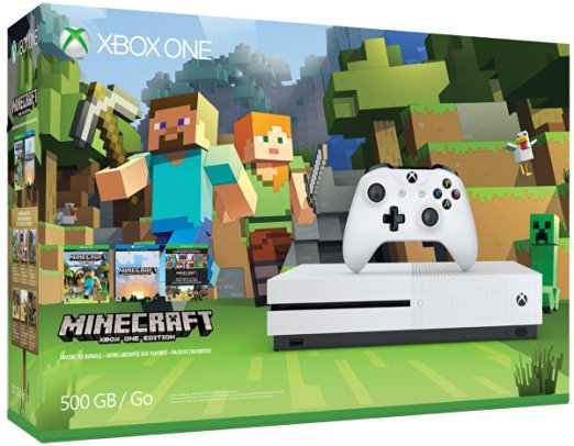 Xbox One S Minecraft Bundle. Disco de 500GB.