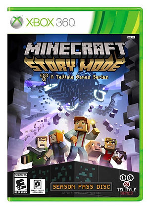 Minecraft Story Mode. Xbox 360