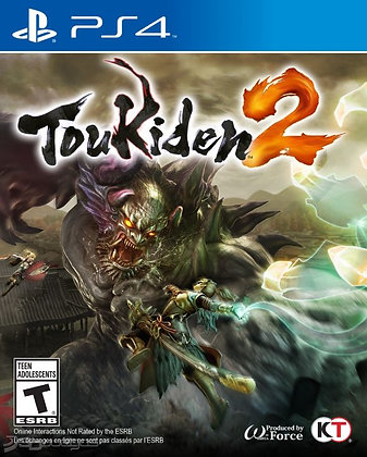 TOUKIDEN 2. PS4