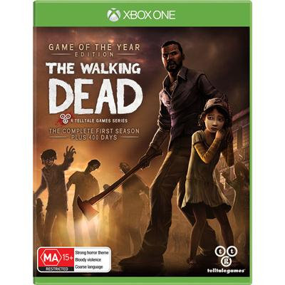 THE WALKING DEAD THE COMPLETE FIRST SEA. Xbox One