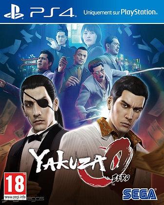 YAKUZA 0. PS4