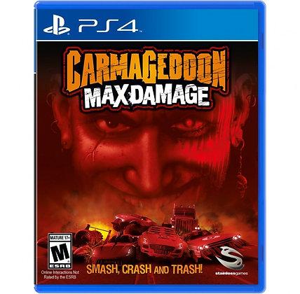 CARMAGEDDON MAX DAMAGE. PS4