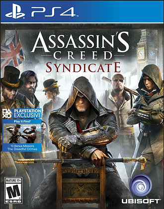 Assassin's Creed Syndicate. PS4
