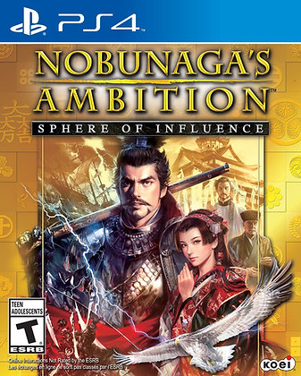 Nobunaga's Ambition Sphere of Influence. PS4