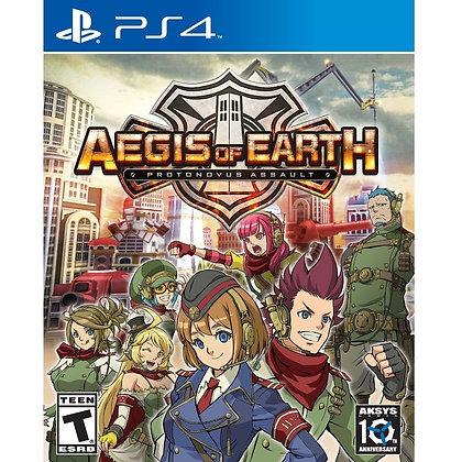 AEGIS OF EARTH. PS4