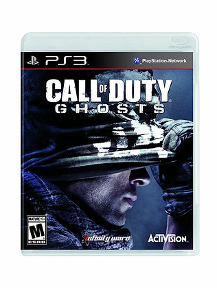 Call of Duty Ghosts. PS3