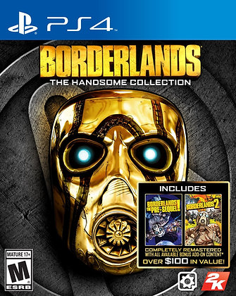 Borderlands The Handsome Collection. PS4