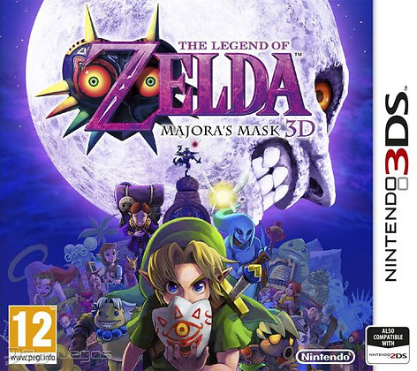 The Legend of Zelda Majora's Mask 3D 3DS