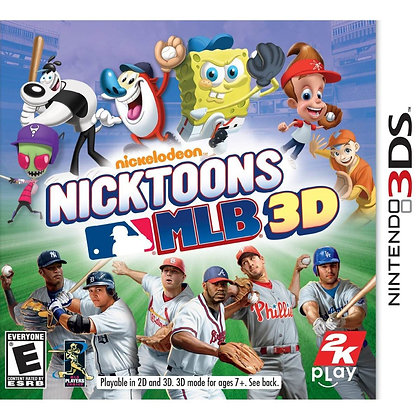 NICK TOONS MLB 3D 3DS