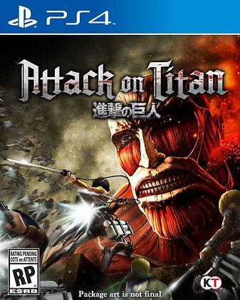 Atack on Titan. Ps4