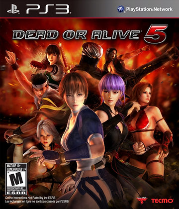 Dead or Alive 5. PS3
