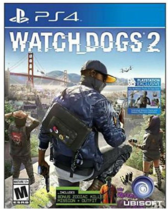 WATCH DOGS 2. PS4
