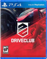 DRIVE CLUB. PS4
