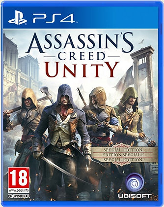 ASSASSINS CREED UNITY. PS4