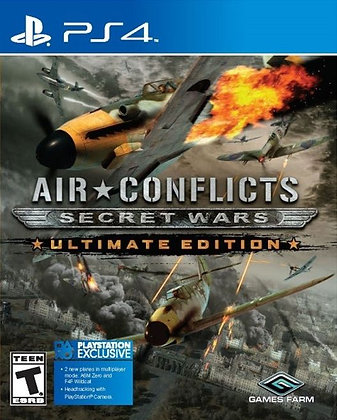 AIR CONFLICTS: SECRET WARS. PS4
