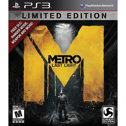 Metro: Last Light. PS3