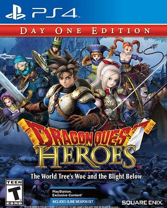 Dragon Quest Heroes El infortunio del Árb. PS4