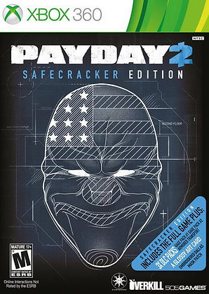 Payday 2 Safecracker Edition XBOX 360