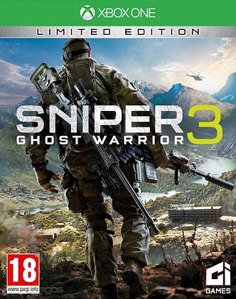 SNIPER GHOST WARRIOR 3. XBOX ONE