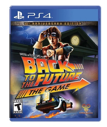Back to the Future. PS4
