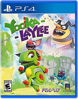 YOOKA LAYLEE. PS4