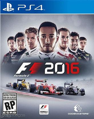 F1 2016. PS4