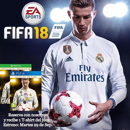 FIFA 18 Xbox One. PRE ORDEN