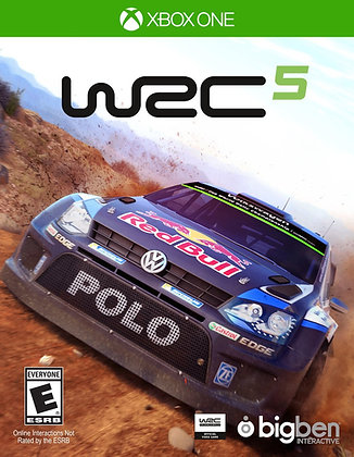 World Rally Car 5. XBOX ONE